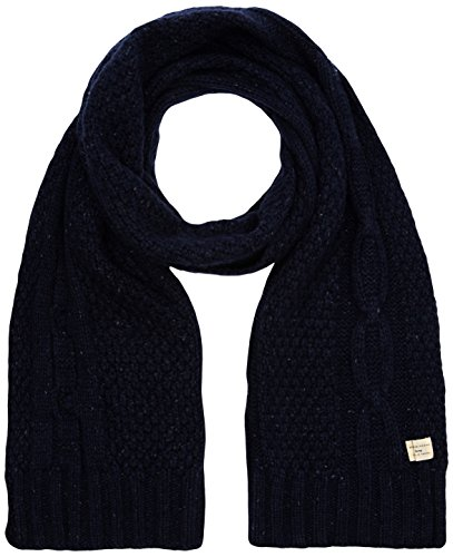 Selected Kenny Cable-Sciarpa Uomo,    Blu (Navy Blazer) unica