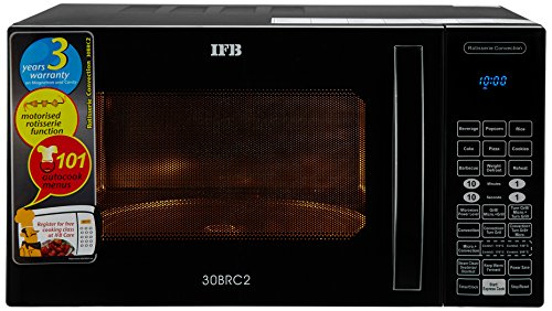 IFB 30 L Convection Microwave Oven (30BRC2, Black)
