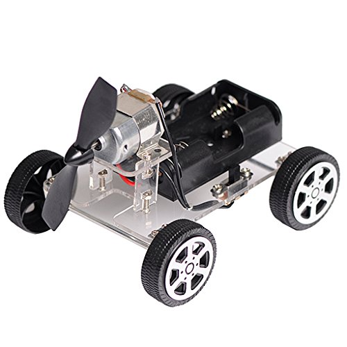 Segolike DIY Wind Power Car Science Educational Learning Toy Kit for Children Toys  available at amazon for Rs.335