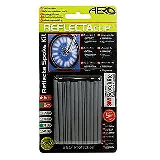 Aero Sport® 3M Scotchlight Speichenreflektor Sicherheit für Fahrrad (36 Stück)