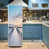 LG Dragon Etiqueta Decorativa del Refrigerador de la Pintura DIY 3D, 60 * 150 cm
