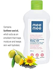 Mee Mee Baby Oil with Fruit Extracts, White, 500ml