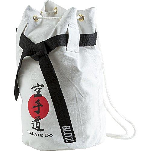 Blitz Karate Discipline - Bolsa para Material de Artes Marciales, Color Blanco