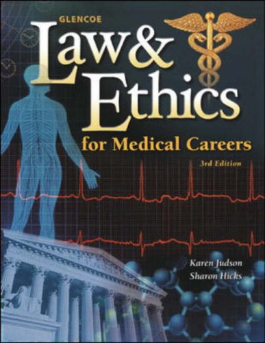 (Law and Ethics for Medical Careers with Ghost Tutorial CD)