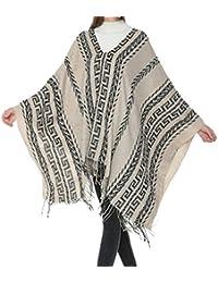 ad6ec2b6c184 Z Damenmode Lange Weiche Warme Schal Geometrisches Muster Ethnischen Stil  Dicke Stil Pullover Quaste