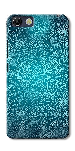 DigiPrints Designer Back cover for Panasonic P55 Novo-Multicolor