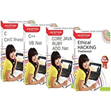 Learn ETHICAL HACKING, C, C++, CORE JAVA, ADO .Net, RUBY, C# (C Sharp) and VB .Net - 8 FULL COURSES Pack - SOFTWARE DEVELOPMENT and PROGRAMMING+ETHICAL HACKING (Inception Success Series - 4 CDs)