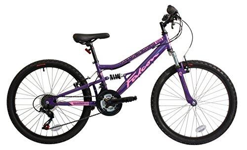 Falcon Mädchen Sirene FS Bike, lila/pink, 24