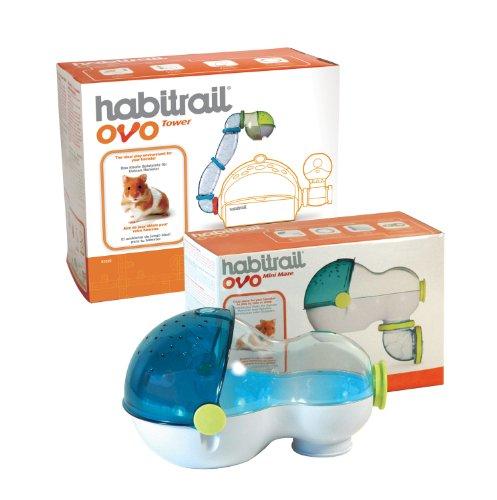 Habitrail OVO Mini-Labyrinth und Turm für Hamster -