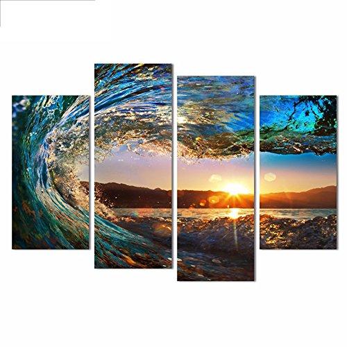 Auykoop 4pcs 5d diy diamond painting strass cristalli di immagini di ricamo kits arts crafts & sewing cross stitch * 2
