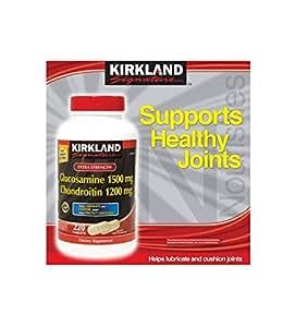 Kirkland Extra Strength Glucosamine Chondroitin - 220 Tablets
