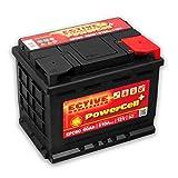 ECTIVE 60Ah 510A EPC-Serie 12V Autobatterie in 8 Varianten: 46Ah - 100Ah (wartungsfrei)