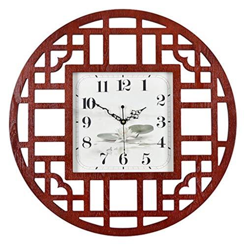 26c34c621c3 XYZS-Clock Nuovo Orologio da Polso Circolare in Legno Stile Cinese Orologio  da Donna in