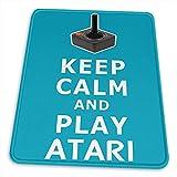 Gaming Matte,Behalten Sie Ruhiges Spiel Atari Rutschfestes Spiel-Mousepad, Waschbare Rechteck-Gummimausunterlage Für Computer / Laptop, 18X22Cm