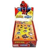 #9: Spiderman Raised Sticker Sheet In Poly Bag