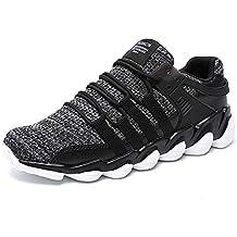 Mengxx Zapatos Para Correr EN Montaña y Asfalto Aire Libre y Deportes Zapatillas de Running Padel