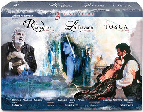 La Traviata, Rigoletto & Tosca [4 DVDs]