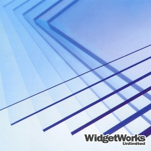 PETG Thermoform Plastic Sheets 1/8 x 12 x 12 Sheets - 8 Piece Bundle by WidgetWorks Unlimited LLC.