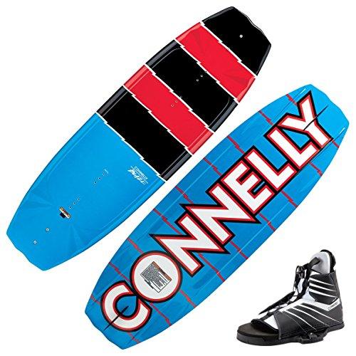 Connelly Ski 140Blaze Wakeboard mit Rand Stiefel, With Hale Binding