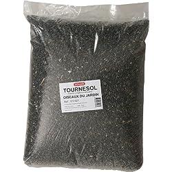 Zolux - Semillas de girasol para pájaros silvestres (bolsa de 12 kg)