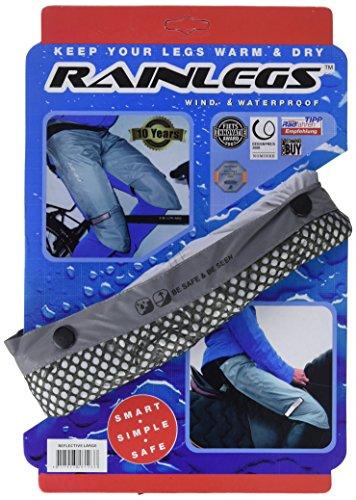 Rainlegs Herren Reflective Regenschutz, grau, L -