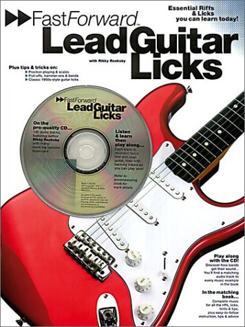Fast Forward Lead Guitar Licks (Fast Forward (Music Sales)) por Rikky Rooksby