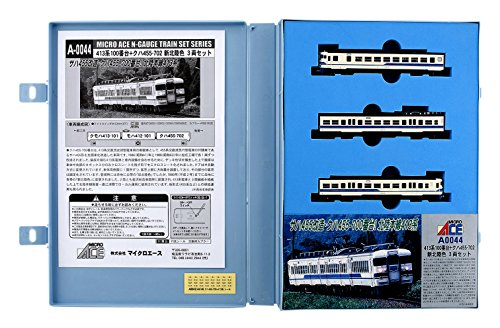 413-serie (Series 413-100 + Kuha 455-702 New Hokuriku Color (3-Car Set) (Model Train))