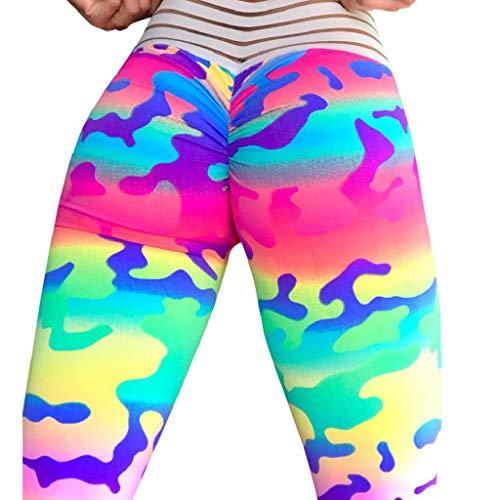 VJGOAL Yoga Pants Women High Waist Tarnung Hohl -