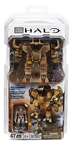 Mega Bloks 97007 Halo UNSC Cyclops Desert Strike