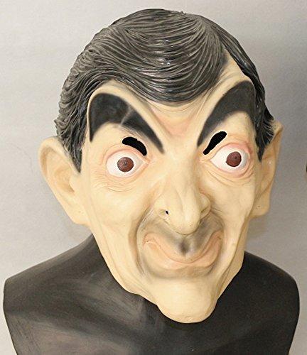 e Latex-Maske in Lebensmittelqualität - Mr. Bean ()