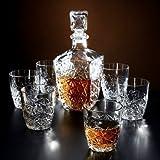 Bormioli Rocco Dedalo Glass decantador 800ml 6Glasses 260ml
