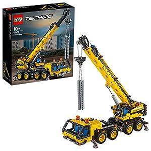 LEGO Technic - Grúa Móvil, Set de Construcción de Vehículo de Obra de Juguete con Brazo Móvil, Recomendado a Partir de 10 Años (42108)