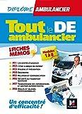 Tout le DE - Ambulancier - modules 1 à 8 en fiches mémos - DEA - Révision