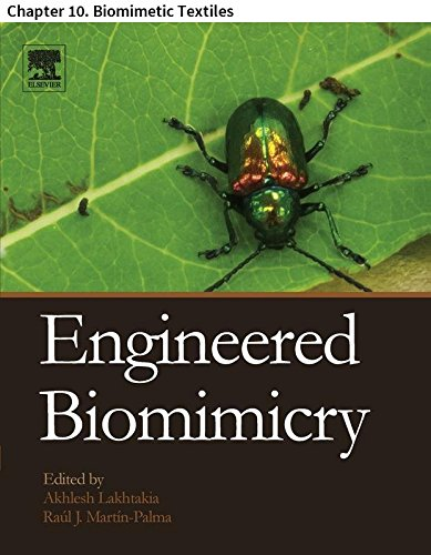 Engineered Biomimicry: Chapter 10. Biomimetic Textiles (English Edition) -