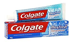 Colgate Toothpaste Maxfresh Peppermint Ice - 80 g (Blue Gel)
