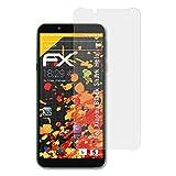 atFolix Panzerfolie kompatibel mit Xiaomi Black Shark Helo Schutzfolie, entspiegelnde & stoßdämpfende FX Folie (3X)