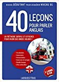 Coffret 40 leçons pour parler l'anglais (livre + 2 CD)