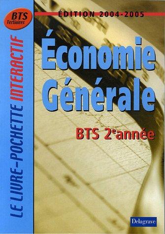 Economie générale BTS tertiaires 2e année