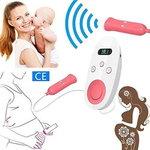 Fetale Überwachung (Marlon114Him Fetal Doppler Baby Heartbeat Monitor - ein sicheres tragbares Hörgerät, mit dem Sie die Geräusche Ihres Babys hören können)