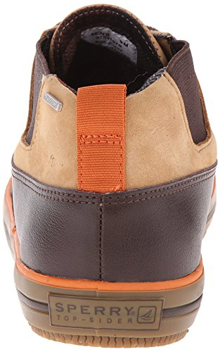 Sperry Fowl Weather Hommes cuir Chukka Bottes / Chaussures brown