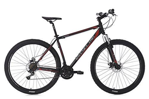 KS Cycling Mountainbike Hardtail MTB Sharp RH 51 cm Fahrrad, schwarz-Rot, 29 Zoll