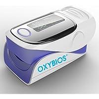 Oxymètre de Pouls Professionnel Numérique Oxymètre de Doigt Pour Surveiller Contrôler Mesurer la Saturation en Oxygène (% spO2) et la Fréquence du Rythme Cardiaque du Pouls avec Ecran OLED à Lecture Instantanée
