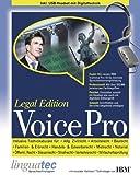 linguatec Voice Pro 10 Legal Edition (für Anwälte und Kanzleien)