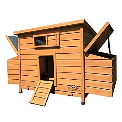 Pets Imperial® Balmoral Double Large Chicken Coop Suitable For Up to 8 Birds from Pets Imperial®