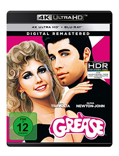 Grease - Remastered (4K Ultra HD) (+ Blu-ray)