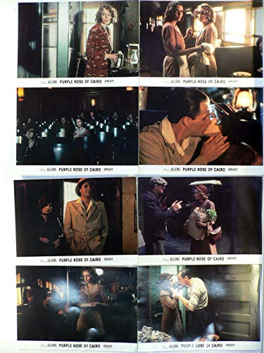 Purple Rose Of Cairo - Woody Allen - Mia Farrow - 12 Aushangfotos/Lobbycards-G1