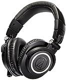 Audio Technica Pro ATH-M50X Cuffie Monitor Professionali, Nero