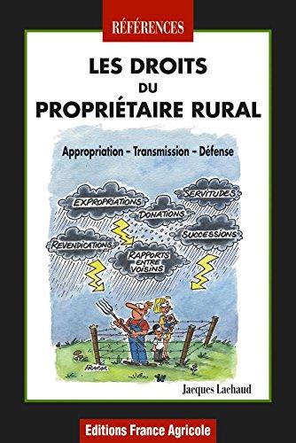 Les droits du propriétaire rural