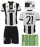 Completo Juventus Dybala 21 Replica Ufficiale 2016-2017 Tutte le Taglie (10 ANNI)