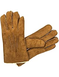 UGG AUSTRALIA WOMENS SHEEPSKIN GLOVES COLOUR CHESTNUT SIZE XL